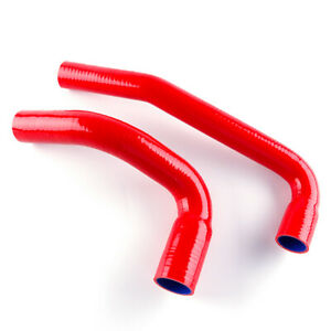 For 1987 2006 Jeep Wrangler Yj tj 2 4l 4 2l Silicone Radiator Coolant Hose Red