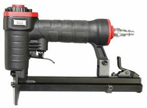 22 Gauge 3 8 inch Crown Pneumatic Upholstery Stapler 1 4 inch To 5 8 inch 360