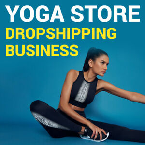 Yoga Store Ready To Go Dropshipping Business Website