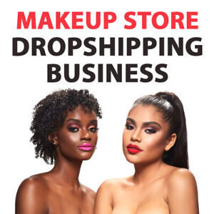 Makeup Store Turnkey Dropshipping Business Website