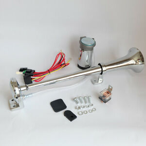 Universal 150 Db Trumpet Car Single Tube Air Horn With Compressor Super Loud
