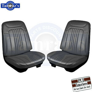 1971 1972 Chevelle Malibu Front Bucket Pre Assembled Seats Pui New