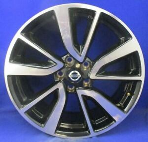 17 18 Nissan Rogue Sport Wheel 19x7 Alloy 5 V Spoke 403006fm3a Oem 62748
