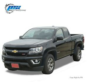 Extension Textured Fender Flares Fits Chevrolet Colorado 15 20 6 2 Bed Only