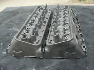 1965 3782461 Original Gm Camel Hump Cylinder Heads Small Block Chevy 1 94 1 50