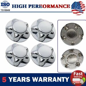4pcs Car Wheel Center Hub Caps Covers For Ford F 150 Expedition 1997 2000 Xlt Xl
