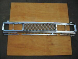 Grille Fit For Nissan Datsun 720 Navara Frontier Hardbody Pickup 4wd Chrome