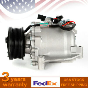 New Co 4918ac A C Air Conditioner Compressor Fit For 2006 2011 Honda Civic 1 8l