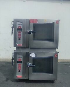 Excellent Cleveland Natural Gas Combi oven Steamer Double stack Ogs 6 20