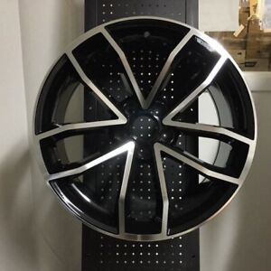 18 New Cavo S5 Black Wheels Rims Vw Volkswagen Black Jetta Gli Passat