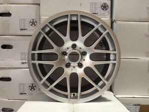 18 M3 Csl Staggered Wheels Rims Silver Finish Zcp Zhp Csl M Power Fits Bmw