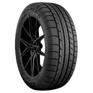 2 New Cooper Zeon Rs3s Summer Performance Tires 275 40r18 275 40 18 99y