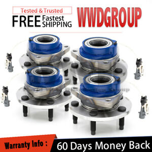 Front rear left right 4pc Wheel Bearing Hub awd Rendezvous Aztek Montana New