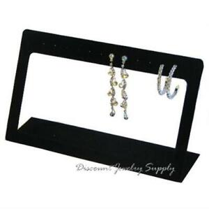 Open Frame 6 Pr Dangle Earring Display Stand Black