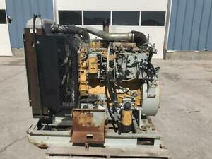 C4 4 Cat 130 Hp Powerunit Good Running Tested Sae 3 11 5 Industrial