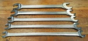 Vintage Craftsman v Thin Tappet Wrench Set 5 Pc Free Ship Made In Usa Lot