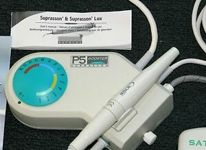 New Acteon Satelec P5 Booster Dental Piezo Ultrasonic Scaler With 3 Tips 220v