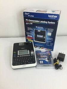 Brother P touch Pt 2730 Label Thermal Printer Pc Connectable Label Maker System