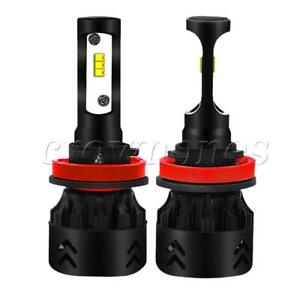 Led Headlight Car Accessories Led Light Front Lamp Universal H11 h9 h8