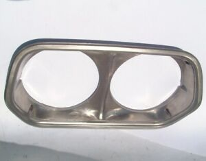 Oem 1972 Ranchero Gran Torino Lh Headlight Bezel 1 Year Only Left D2ob 13064 Ab