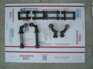 Model T Ford Box Of Parts Front Rear Spring Perches Plus More