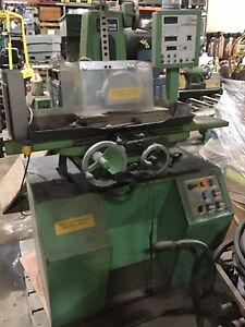 Harig Super 618 Surface Grinder With Auto Step Iii
