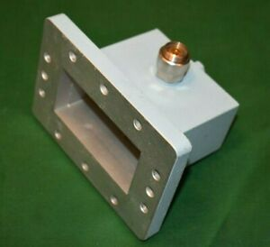 Wr340 Waveguide To Apc 7 Mm Coaxial Adapter 2 2 3 3 Ghz Maury Microwave 2450 Mhz