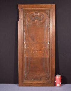 1700 S Antique 16 Wide French Louis Xiv Period Solid Oak Panel 7