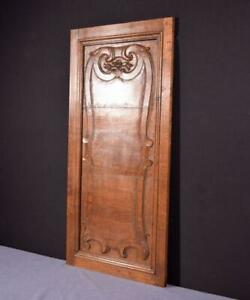 1700 S Antique 17 Wide French Louis Xiv Period Solid Oak Panel 6