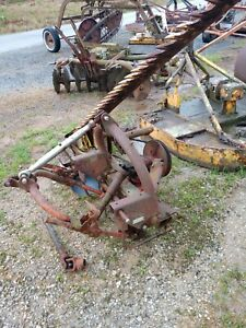 New Holland 450 Sickle Hay Mower Good 3 Pt