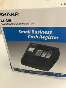 Sharp Electronic Cash Register Xe a107 With Box Keys Missing Coin Tray