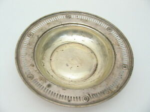 J S Co Sterling Silver Dish 261