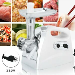2500w Electric 2 Speed Meat Grinder Sausage Stuffer Maker Stainless Cutter My