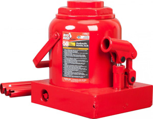 Big Red Hydraulic Bottle Jack Torin For Residential And Commercial Use 50 Ton