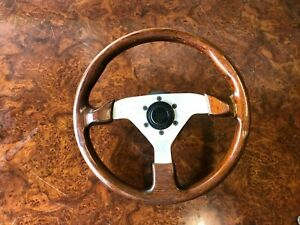 Vintage Wood Steering Wheel Jdm Momo