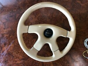 Vintage Wood Steering Wheel Jdm