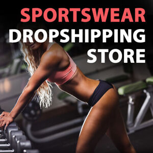 Sportswear Dropshipping Store Turnkey Business Website