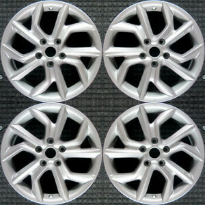 Set 2013 2014 2015 Nissan Sentra Oem Factory 3pa2445 Silver Wheels Rims 62600