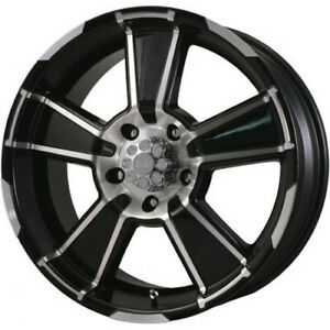 Vox785512715gbf G Fx Desert Eagle Black Machined 17x8 5 5x127 15 Offset