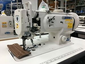 Thor Gc1541s Leather Sewing Machine W Servo Motor Speed Reducer Caster Wheels