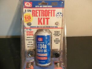Quest Auto Air Conditioning Retrofit Kit R 12 To R 134a
