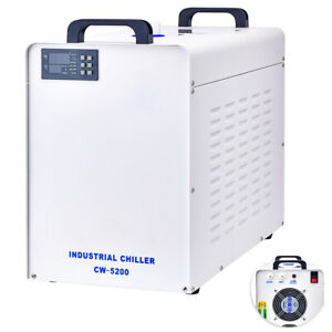 New Cw 5200 Industry Water Chiller For Co2 Laser Engraving Cutting Machine 110v