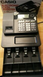 Casio Se s700 Electronic Cash Reg With Keys Manual Thermal Paper Rolls