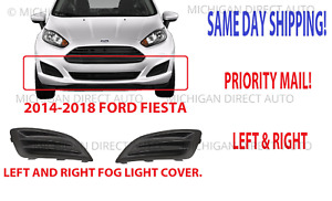 2014 2015 2016 2017 2018 2019 Ford Fiesta Fog Light Covers Left And Right