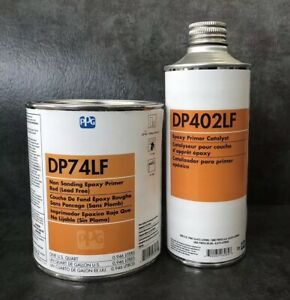 Ppg Dp74lf Epoxy Primer Kit Red Oxide quart With Dp402lf Catalyst pint