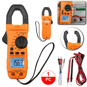 6000 Counts Clamp Multimeter Digital Auto ranging Meter Tester Ac Dc Current Usa