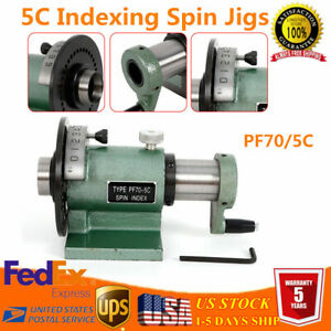 5c Collet Spin Indexing Fixture For Grinders Milling Machines Metalworking