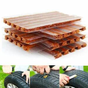 50pcs Tire Repair Diy Flat Car Truck Motorcycle Plug Patch Stem Core Patches Set