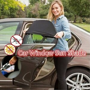 4pcs Auto Sun Shade Screen Cover Sunshade Protector Front Rear Window Car