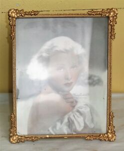 Antique Vintage Wood Wooden Picture Frame 10 X 8